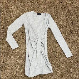 Cotton, grey, dress, size small
